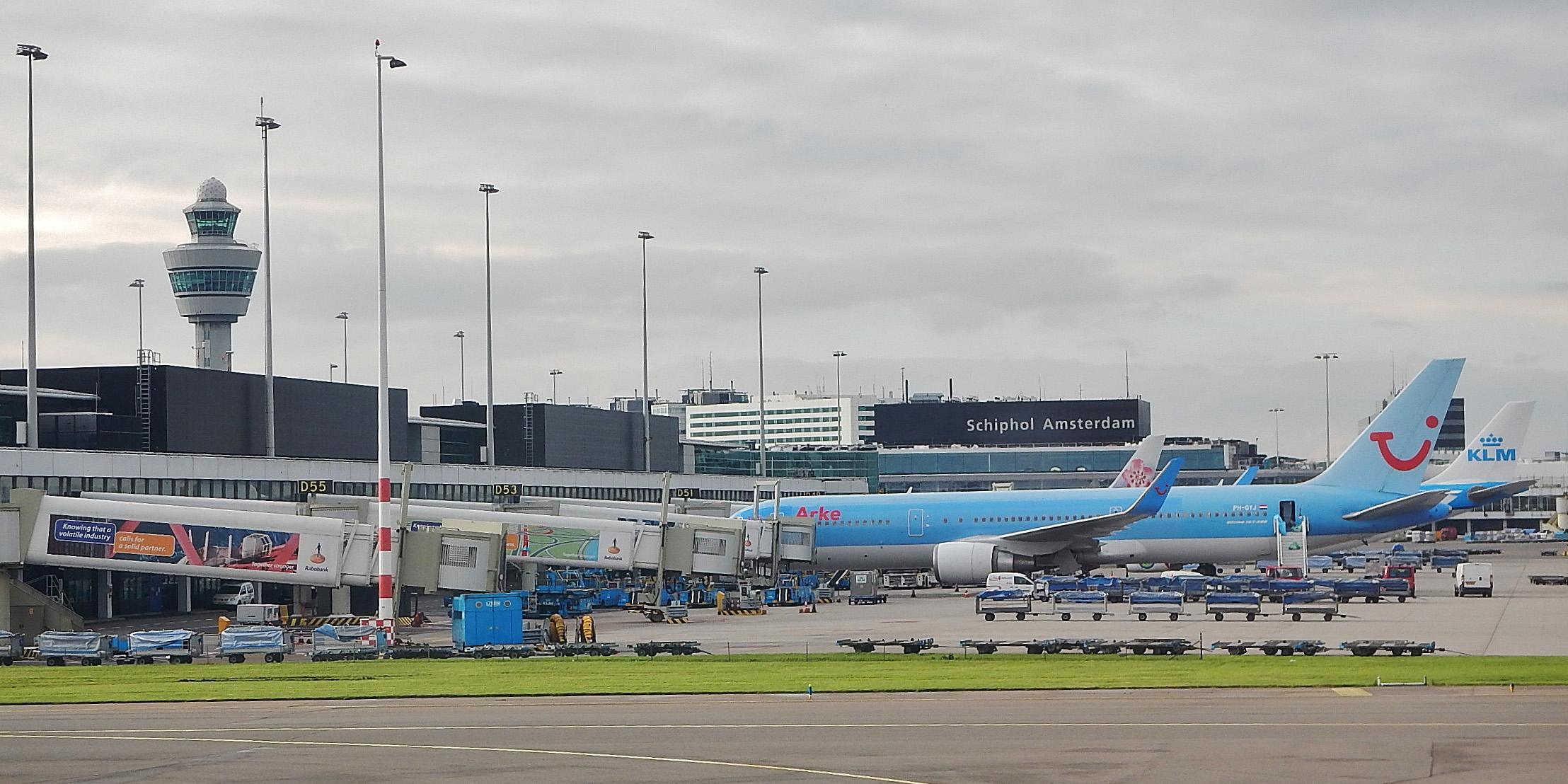 فرودگاه امستردام