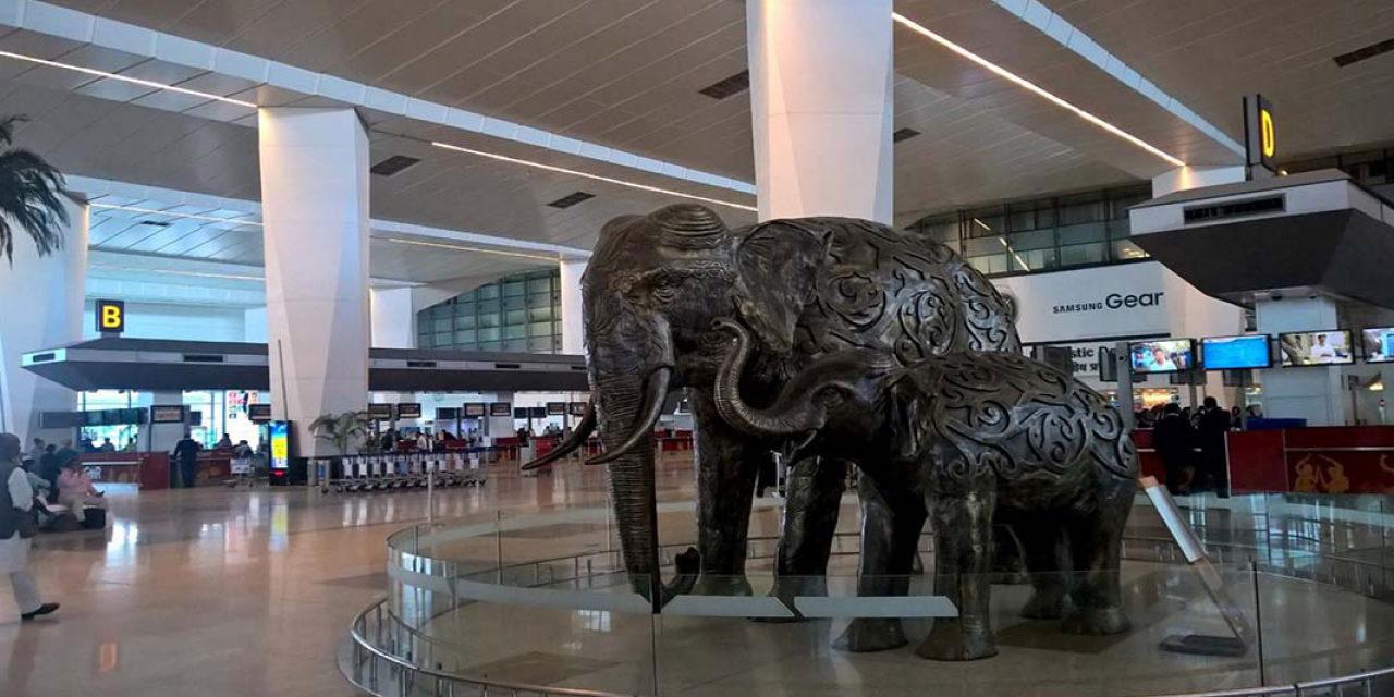 فرودگاه گاندی