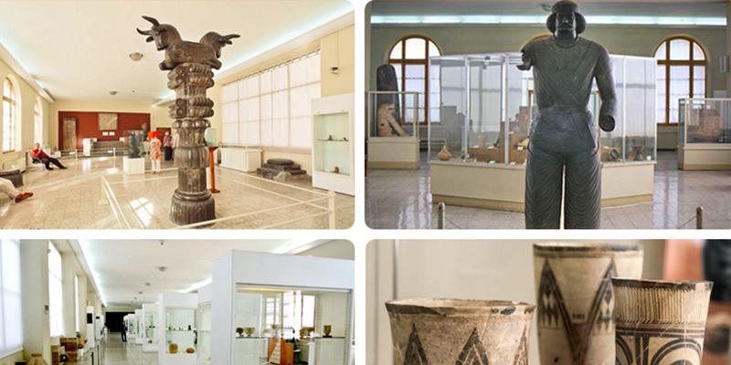 بازدید از موزه ایران باستان